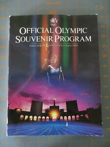 1984 Los Angeles Olympic Games Souvenir Program  - 324 pages - 8 x 11 inch