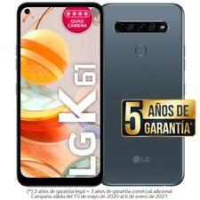 SMARTPHONE MÓVIL LG K61 NEW LMQ630EAW 128GB Titán LIBRE CON GARANTÍA DUAL SIM
