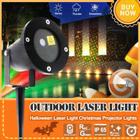 Christmas Laser Fairy Light Wall Projection Outdoor Landscape LED Holiday Lamp