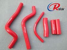 For Honda CR500R CR500 R silicone radiator hose 94 95 96 97 98 99 00 01 RED