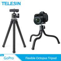 TELESIN Flexible Octopus Tripod Monopod For Phone Android DSLR GoPro Camera