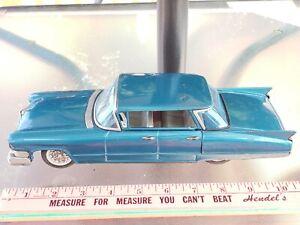 Vintage Large 1960's Bandai Tin Friction Cadillac 4dr Must See