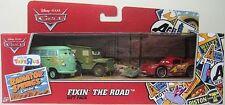 CARS - 3 CARS GIFT PACK - FIXIN' THE ROAD - Mattel Disney Pixar Fillmore McQueen