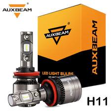 AUXBEAM  H11 H9 LED Headlight Temperature Control Canbus for Dodge Ram 1500 2500
