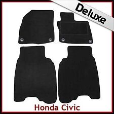 Honda Civic Type R Facelift Mk8 2008-2011 Tailored LUX 1300g Carpet Mats BLACK