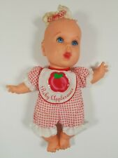 "Adorable Toy Biz 1996 Gerber Baby Dolls-Used 8-9"" tall Baby Applesauce."
