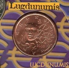 Pièces euro de la France pour 5 Euro année 2002