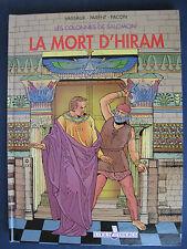 Les Colonnes de Salomon 2 EO La Mort d'Hiram franc-maçonnerie Loges Horus