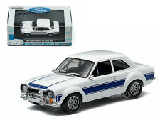 1974 FORD ESCORT RS 2000 MKI BLUE 1/43 DIECAST CAR MODEL BY GREENLIGHT 86065