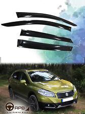 For Suzuki SX4 S-Cross 13-18 Deflector Window Visors Guard Vent Weather Shield