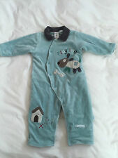 Boys PUMPKIN PATCH SLEEP SUIT one piece winter all in one SUPER WARM 6-12MH