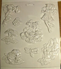 Faries Flowers Mushrooms Frogs Dragonflies & Butterflies  Chocolate Candy Mold