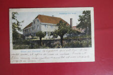 Restaurant Joh. Berns Eversael Germany Postcard Carte postale Allemagne1919