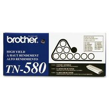Genuine Brother TN580 Black Toner Cartridge 7000 Page Yield for DCP-8060 HL-5240