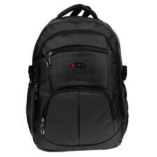 XL Rucksack Laptop Schulrucksack Sporttasche Schulranzen Schwarz 15 Zoll UNI A4