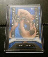 #/188 Cain Velasquez Rare Blue Sparkle Refractor Card 2013 Topps UFC Finest
