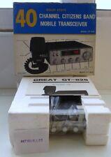 EMISORA RADIOAFICIONADO GREAT MODELO GT-828 AM,FM 40 CHANEL,SOLID STATE,NUEVA.
