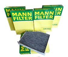 5 x MANN Innenraumfilter m. Aktivkohle CUK2939 f. Audi Seat Skoda VW  B-WARE!!!