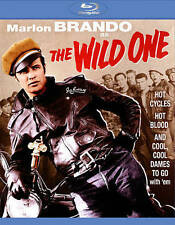 The Wild One Blu Ray Disc Marlon Brando Hot Cycles Hot Blood Cool Dames B&W NEW