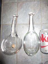 Large Vintage 1/2 PINT DRY SPOON with CORK & LARGE Serving SPOON Scoop Ladle?