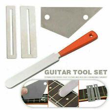 1 Set Gitarren Reparatur Schleifen Gitarre Bundfeile Schleifgitarre Werkzeug,DG