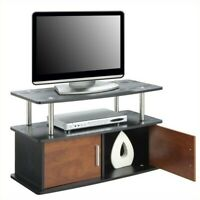 """Convenience Concepts Designs2Go 36"""" 2 Door Deluxe TV Stand with Cabinets in C..."""