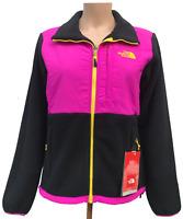 Women North Face Denali BLACK / Pink Jacket (Size: XS)