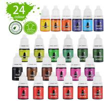 Epoxidharz Farbe 24 Farben Flüssiger Epoxidharz Pigment Farbstoff für Epoxy OVP