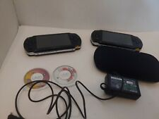 Lot of 2 Sony PSP 1001 Model 1 With cover case