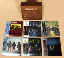 The Doors - 6 Mini LP CD Japan 2007 + Perception Box VERY RARE OOP Jim Morrison!