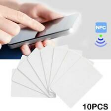 10pcs Portable Cheap Waterproof NTAG215 NFC Card NFC Tags Android System hot
