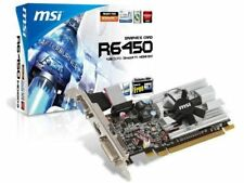 MSI ATI Radeon HD6450 1 GB DDR3 VGA/DVI/HDMI Low Profile PCI-Express Grafikkarte