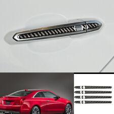 For Cadillac ATS 2013-2019 carbon fiber exterior door handle cover trim 12pcs