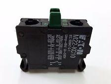 Moeller Eaton M22-KC10 Contact Block 1NO Rear 216380 RMQ Titan Boden Öffner