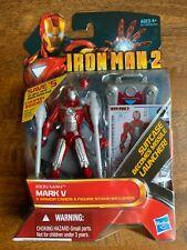 IRON MAN MARK V ACTION FIGURE - IRON MAN 2 MOVIE SERIES - 3.75in. BY HASBRO