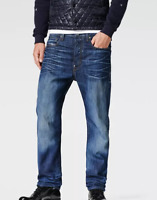 G-Star Raw Lumber Tapered Jeans Dirty Aged Mens Size UK W34 L34 *REF30-06