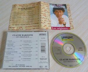 CD ALBUM LES ORIGINAUX BEST OF CLAUDE BARZOTTI 12 TITRES 1996 MADE IN GERMANY
