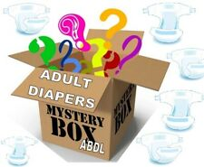 Box - 40 Adult Diapers Abdl