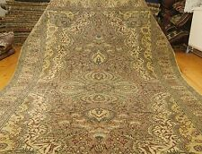 Exquisite Cr1940-1950s Semi-Antique Muted Dye Wool Pile Hereke Rug 7x10ft
