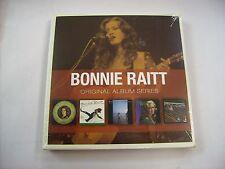 BONNIE RAITT - ORIGINAL ALBUM SERIES - 5CD NEW SEALED 2011