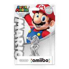 Silver Mario Amiibo Figure Nintendo USA Super Party Version