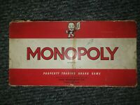 Vintage Waddingtons Monopoly Classic 1961 Board Game