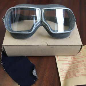 Glasses Authentic Soviet USSR Russian Pilot Tankman Aviator Goggles WW2