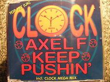 Clock / Axel F – Keep Pushin incl. Clock Mega Mix – Maxi CD