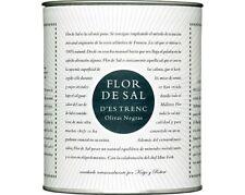 Flor de Sal with ground black olives 150 g - Flor de Sal d'es Trenc