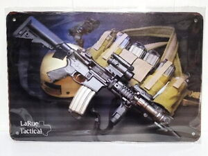 New LaRue Tactical Gun Metal Sign
