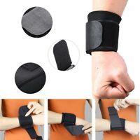 1pc Wrist Support Elastic Compression Adjustable Forearm Belt Strap Protector