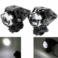 125W Motorcycle CREE U5 LED Driving Headlight Fog Lamp Spot Light Black 1 piece