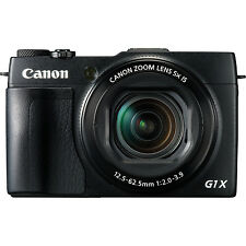 Canon PowerShot G1x Mark II High Performance Digital Camera WiFi Black G1xii