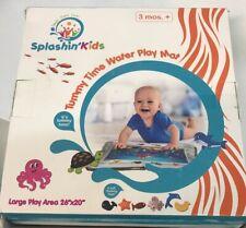 "Splashin Kids Tummy Time Water Play Mat Large Play Area 26""x20"""